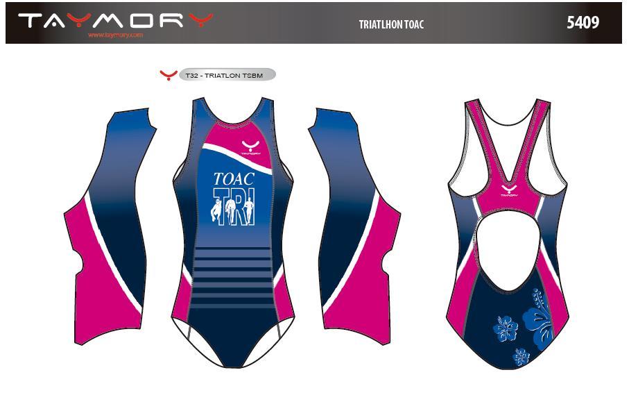 super populaire fa023 5b7b7 Maillot de Bain – Femme – Site Officiel du TOAC Triathlon